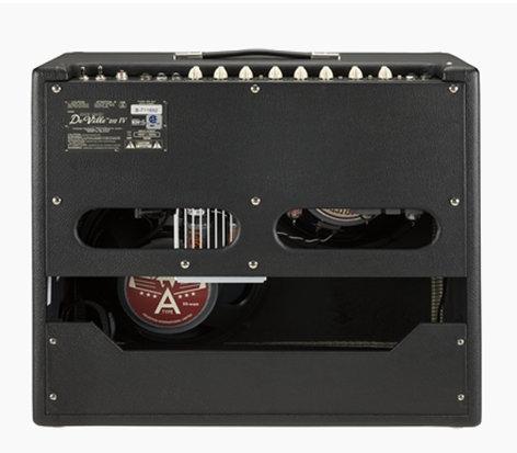 Fender Hot Rod DeVille 212 IV 120 Volt Black Combo Amplifier HOT-ROD-DVL-IV