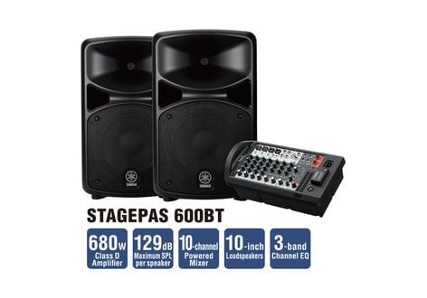 Yamaha STAGEPAS-600BT STAGEPAS 600BT STAGEPAS-600BT
