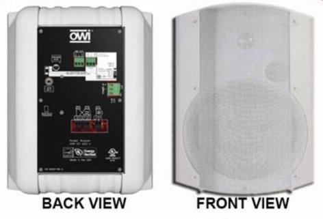 OWI AMP-BT-602-1W  Amplified Surface Mount Bluetooth Speaker  AMP-BT-602-1W