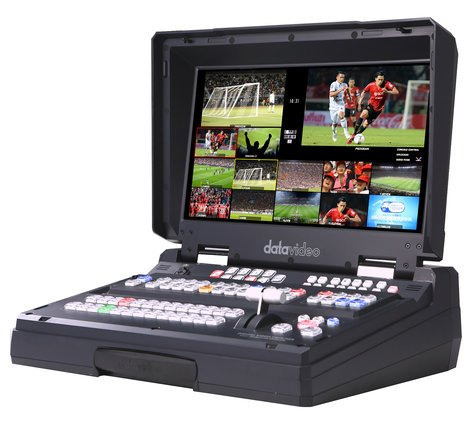 Datavideo HS-2850-12-RST-01 HS-2850-12 [RESTOCK ITEM] HD/SD 12-Channel Portable Video Studio HS-2850-12-RST-01