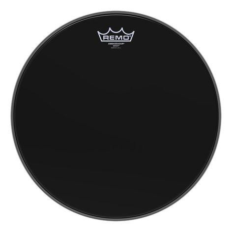 """Remo ES-0014-00  14"""" Ambassador Ebony Drumhead ES-0014-00"""