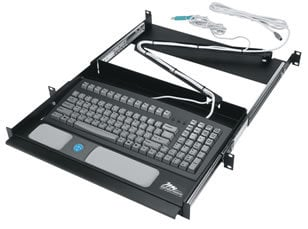 Middle Atlantic Products RM-KB  Rackmount Computer Keyboard  RM-KB