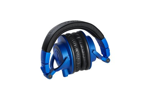 Audio-Technica ATH-M50xBB LIMITED EDITION Professional Monitoring Headphones, Blue and Black ATH-M50XBB