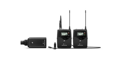Sennheiser ew 500 FILM G4-AWPlus Ew500 G4 UHF Wireless Pro Portable Combo Set EW500-FILM-G4