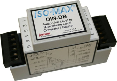 Jensen Transformers DIN-DB Direct Box Single Channel DIN-DB