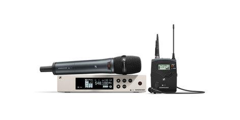 Sennheiser ew 100 G4-ME2/835-S evolution wireless G4 Combo Lavalier/Vocal Set EW100-G4-ME2/835S