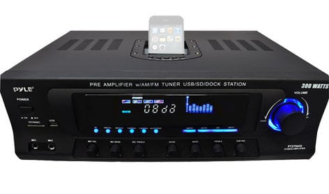 Pyle Pro PT270AIU [RESTOCK ITEM] Stereo Receiver AM-FM Tuner PT270AIU-RST-02
