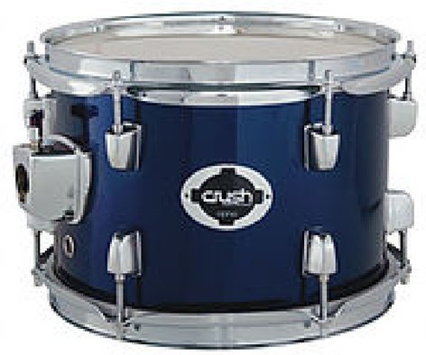 """Crush AL504 Alpha Complete 5-Piece Drum Set with 20"""" Bass Drum, Cymbals, and Hardware AL504"""