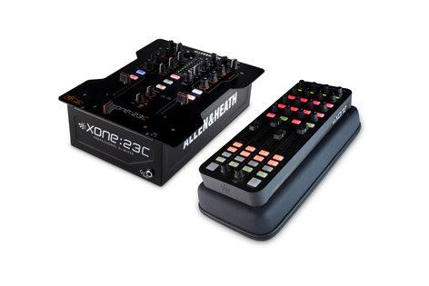 Xone 23C-XONE-K 23C DJ Mixer Bundle with Xone K1 and Case 23C-XONE-K
