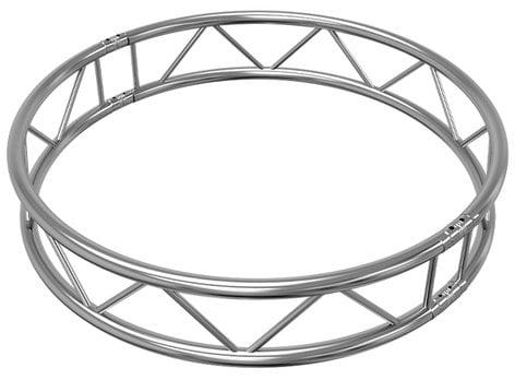 4 92 1 5m vertical i beam circle 2x180 degree arcs by global H- Beam Art global truss ib c1 5 v180