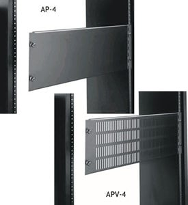 Middle Atlantic Products AP4 Hinged Access Panel, 4 Space AP4