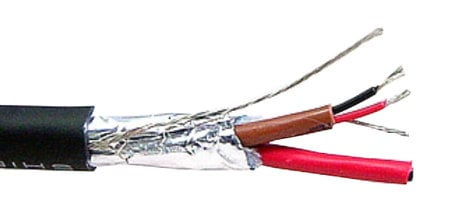 Belden 1509C 500 24 AWG Two Pair Individually Shielded Audio Snake ...