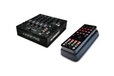 Allen & Heath-Xone PX5 DJ Mixer Bundle with Free Xone K1 and Case PX5-PK1-K