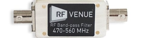 RF Venue BPF470T560  470-560 MHz Band-Pass Filter BPF470T560