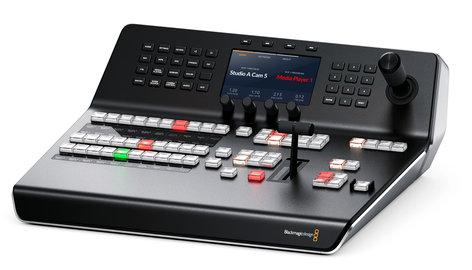 Blackmagic Design Swpaneladv1me Compact Control Panel For Atem Switchers Full Compass Systems