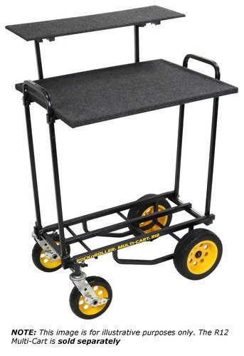 Rock-n-Roller RSHM2T  2 Tier Multi-Media Shelf for R8 / R10 / R12 RSHM2T