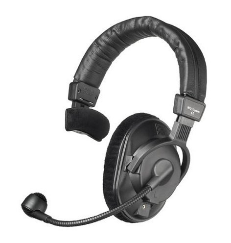 Beyerdynamic DT 280 V.11 MK II Single-Ear Communication Headset for Television Cameras with Built-In Carbon Mic Preamplifier and Dynamic Microphone DT280-V11MKII-200/80