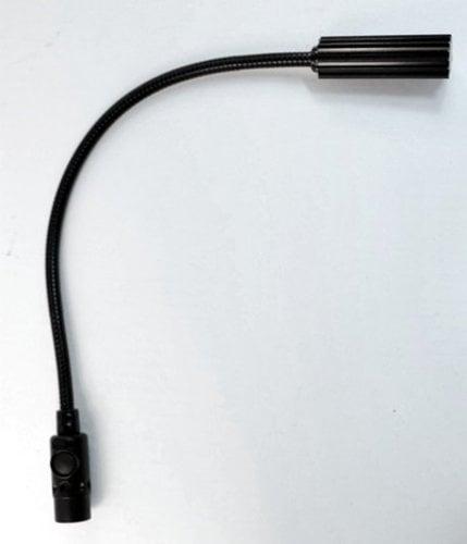 "Littlite 18X-4 18"" Gooseneck Lamp with 4-Pin XLR Connector 18X-4"