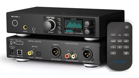 RME ADI-2 DAC 24 Bit / 768 kHz, 2 in / 4 out AD/DA-Converter with USB ADI-2DAC