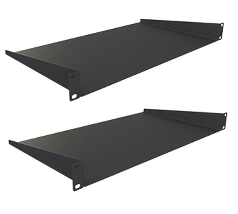 "Grundorf Corp 75-211P Pair of 1 space Rack Shelves with 14.75"" Depth 75-211P"