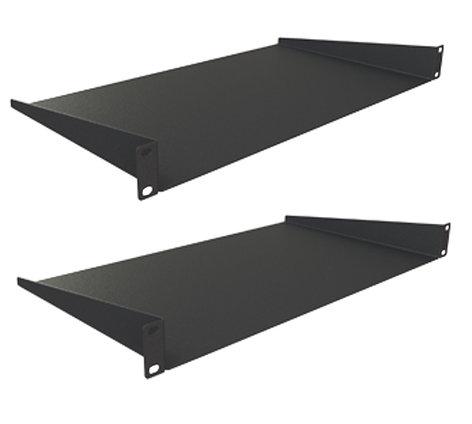 "Grundorf Corp 75-211P Pair of 1 space Rack Shelves with 14.75"" Depth 75-211P"