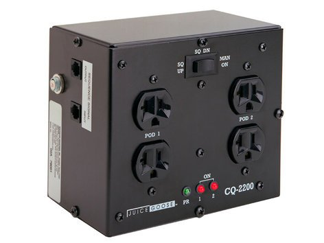 Juice Goose CQ 2200 Dual-Sequenced 20 Amp Power Distribution System CQ2200