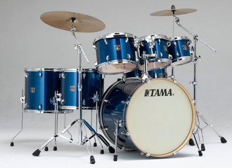 """Tama CK72S 7-Piece Superstar Classic Shell Pack with 22"""" Bass Drum CK72S"""
