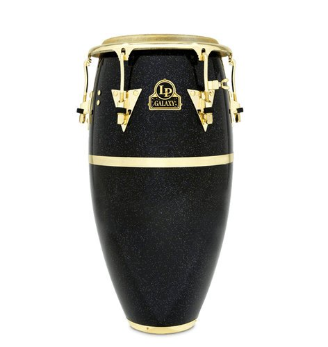 "Latin Percussion LP809Z  Galaxy Series Fiberglass Conga With Gold Hardware, 11.75"" LP809Z"
