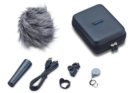 Zoom Handy Video Recorder Bundle with Accessory Pack, 32GB microSDHC Card, Camera Mount Adapter, and Headphones Q2N-PACK1-K