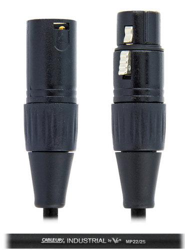 Vu MSI100 Bundle MSI100-10B Standard Microphone Stand with (1) MIC-20 XLR Microphone Cable MSI100-PK1-K