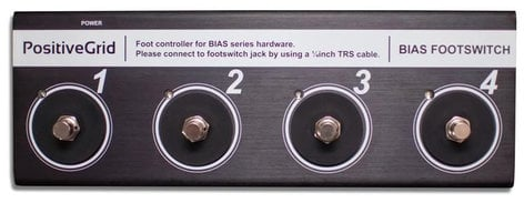 Positive Grid BIAS BFS4 4 Button Footswitch for BIAS Amps and Racks  BIAS-BFS4