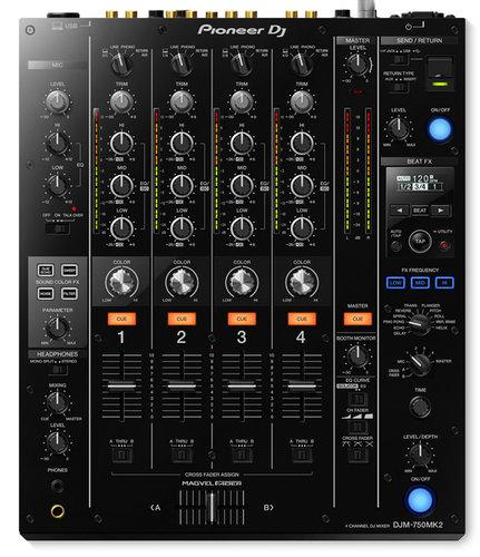 Pioneer DJM750MK2-PK1-K DJM750-MK2 4ch DJ Mixer Bundle With Xone K1 and Case DJM750MK2-PK1-K