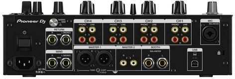 Pioneer DJM750-MK2 4ch DJ Mixer Bundle With Xone K1 and Case DJM750MK2-PK1-K