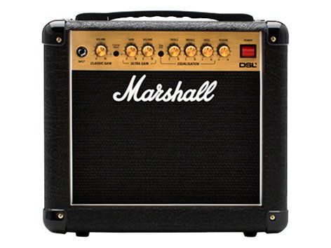 "Marshall Amplification DSL1C 1x8"" Combo Amplifier, 1W Tube 2-Channel with Dig Reverb M-DSL1CR-U"