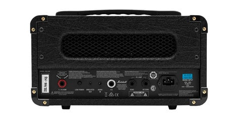 Marshall Amplification DSL1H 1W Tube 2-Channel Amp Head with Digital Reverb M-DSL1HR-U