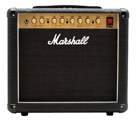 "Marshall Amplification DSL5 1x10"" Combo Amp, 5W Tube 2-Channel with Digital Reverb M-DSL5CR-U"