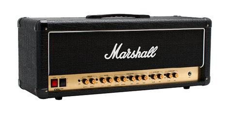 Marshall Amplification DSL-100H 100W Tube 2-Channel Amp Head M-DSL100HR-U
