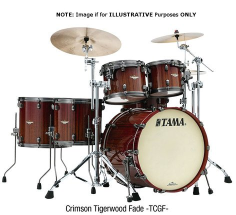 Tama BE32RZBS 3-Piece Starclassic Bubinga Shell Pack BE32RZBS