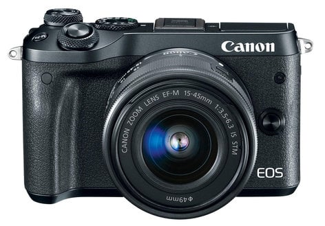 Canon EOS M50 Mirrorless Camera Dual Lens Kit 24 1MP, With EF-M 15-45mm And  55-200mm Zoom Lenses