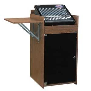 Chief Manufacturing ECR10/16CH Rack, 10 over 16 in Cherry finish ECR10/16CH