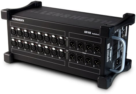 Allen & Heath SQ-6-STARTER-PACK-K Digital Mixer Bundle with Stagebox, Cover and Cat6 Cable SQ-6-STARTER-PACK-K