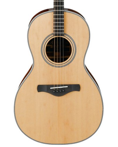 Ibanez AVT1NT Natural High Gloss Artwood Vintage Series Parlor 4-String Tenor Acoustic Guitar AVT1NT