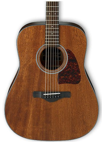 Ibanez AW54OPN Open Pore Natural Artwood Series Dreadnought Acoustic Guitar AW54OPN