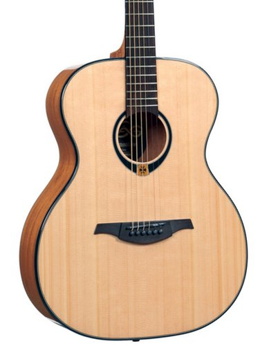 Lag Guitars T80A Tramontane Series Auditorium Acoustic Guitar with High Gloss Finish T80A