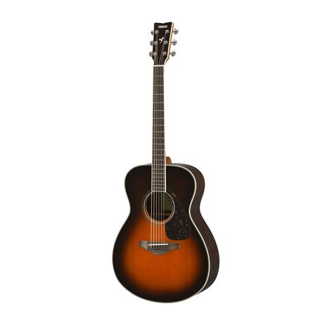 Yamaha FS830 Thin Profile Acoustic Guitar with Solid Sitka Spruce Top, Rosewood Back and Sides FS830