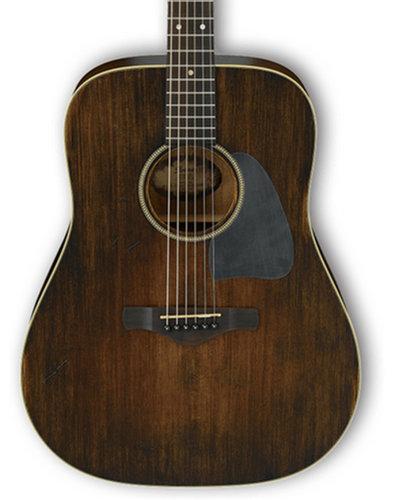 Ibanez AVD6 Artwood Vintage Acoustic Guitar with Distressed Tobacco Sunburst Finish AVD6DTS