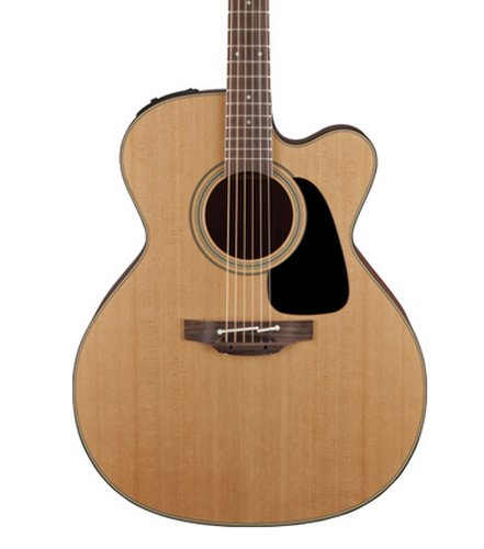 Takamine P1JC Pro Series 1 Gloss Natural Jumbo Cutaway Acoustic/Electric Guitar with CT4B-II Preamp P1JC