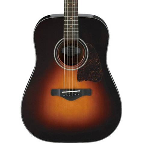 Ibanez AW4000BS Brown Sunburst High Gloss Artwood Acoustic Guitar AW4000BS