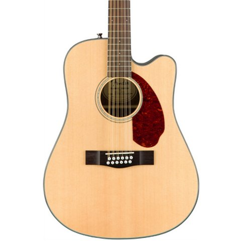 Fender CD-140SCE 12-String 12-String Dreadnought Acoustic-Electric Guitar with Hardshell Case CD-140SCE-12-NAT-WC