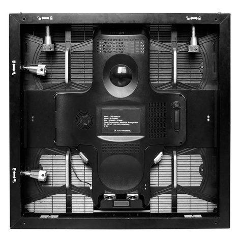 ADJ AV6X 9X5 System 45 Panel Video Wall Package with Rigging Bars and Road Cases AV6X-9X5